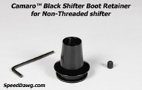 Camaro™ Black Shifter Boot Retainer 2010-12