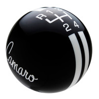 Black knob with White graphics