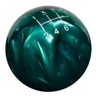 Green Pearl Shift Knob with Engraved Shift Pattern