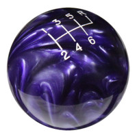 Purple Pearl Shift Knob with Engraved Shift Pattern