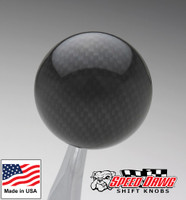 Black Carbon Fiber Finish Shift Knob
