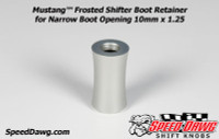 Mustang™ Shelby GT500 Frosted Shifter Boot Retainer 2010 to 2014 10mm x 1.25