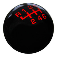 Black / Red Pro Series Shift Knob