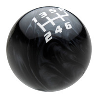 Black Pearl / White Competition Shift Pattern Shift Knob