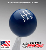 Dark Blue / White Pro Series Shift Knob