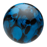 Grabber Blue Multi Skull Shift Knob