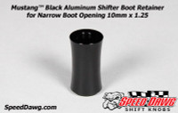 Mustang™ Shelby GT500 Black Shifter Boot Retainer 2010 to 2014 10mm x 1.25