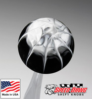 Black White Splash Shift Knob