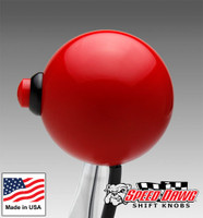 Red Shift Knob with Line Lock / Nitrous Button