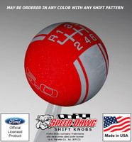 Mustang 5.0 Racing Stripe Shift Knob