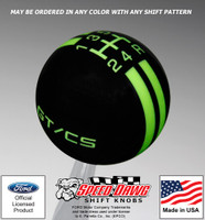 Mustang California Special GT/CS Rally Stripe Shift Knob