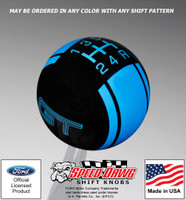 Mustang GT Racing Stripe Shift Knob