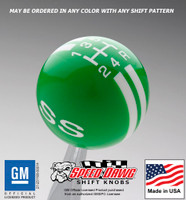 SS Rally Stripe Shift Knob
