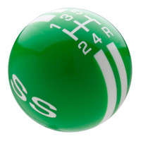 Synergy Green knob with White graphics