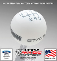 Mustang California Special GT/CS Side Stripe Shift Knob
