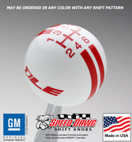 Camaro 1LE Rally Stripe Shift Knob