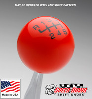 Orange / Black Pro Series Shift Knob