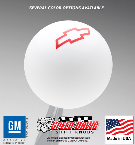 Chevy Bowtie Logo Shift Knob