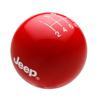Red knob with White graphics