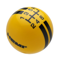 Yellow knob with Black graphics