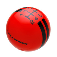 Go Mango Orange knob with Black graphics
