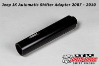 Jeep 2007-10 Automatic Shifter Adapter - Black