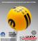 Yellow Mopar Logo Rally Stripe Shift Knob with Black Graphics