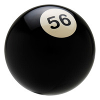 56 Pool Ball Shift Knob