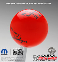 Dodge Dart Swinger Shift Knob with Inlaid Shift Pattern