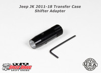 Jeep JK 2011-18 Transfer Case Shift Knob Adapter