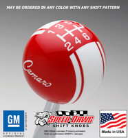 '68 - '69 Camaro Logo Racing Stripe Shift Knob