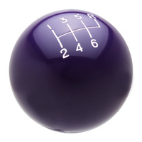 Purple Shift Knob with Engraved Shift Pattern