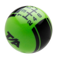 Go Green knob with Black graphics