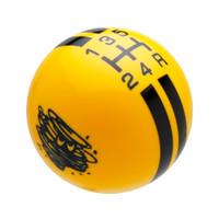 Yellow knob with Black graphics