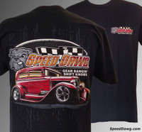 Speed Dawg Shift Knobs Street Rod T-shirt