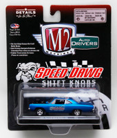 Speed Dawg Shift Knobs 1969 Plymouth Road Runner 440 1/64 Scale Die Cast Car