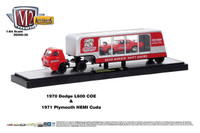 Speed Dawg Shift Knobs Racing Team 1971 Plymouth Hemi Cuda and 1970 Dodge L600 Hauler 1/64 Scale Die Cast