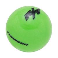 Go Green knob with Black graphics