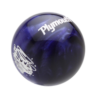Purple Pearl knob with White graphics