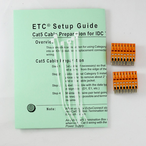 DMX Prep Kit with IDC Connector (crimp type)