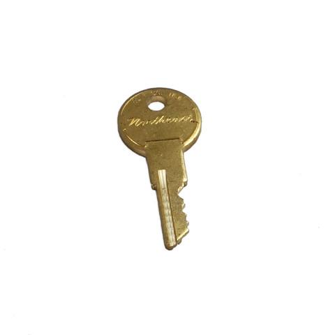 Key for L86 Rack Door, EMAP Door, L86 Wall Unit (T125)