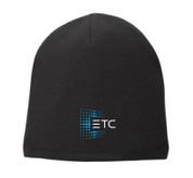 ETC Fleece Beanie - Black