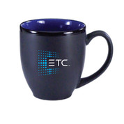 ETC Bistro Mug - black/blue