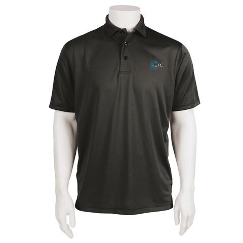 ETC Dryfit Polo - Black