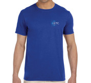 ETC T-shirt - Mens Cobalt