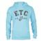 ETC Classic Hoodie - Pool Blue