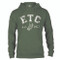 ETC Classic Hoodie - Moss Green