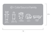 ETC ColorSource Family Sticker