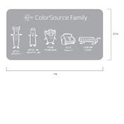 ETC ColorSource Family Sticker
