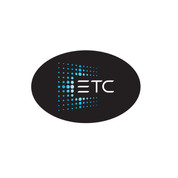 ETC Oval Bumper Sticker